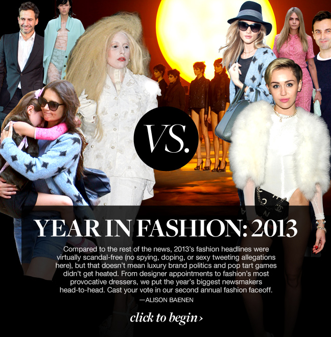 style.com: The Year in Fashion 2013